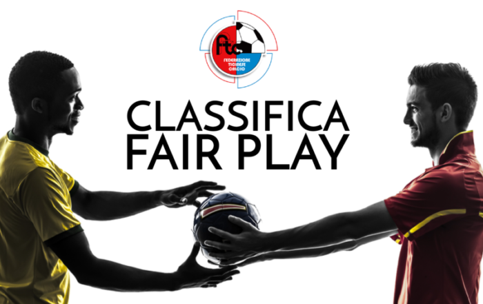 La classifica Fair-Play, prime impressioni